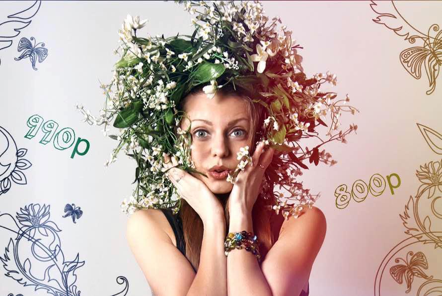 Цветущие скидки на Fashion съемки