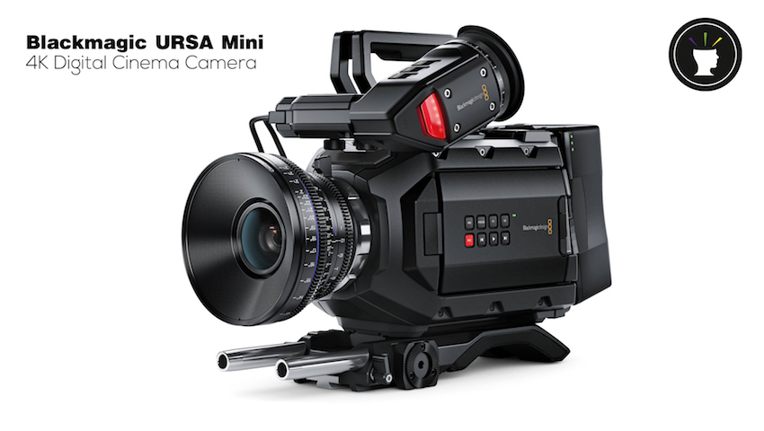 Blackmagic URSA Mini 4K Digital Cinema Camera в студии Brain Production