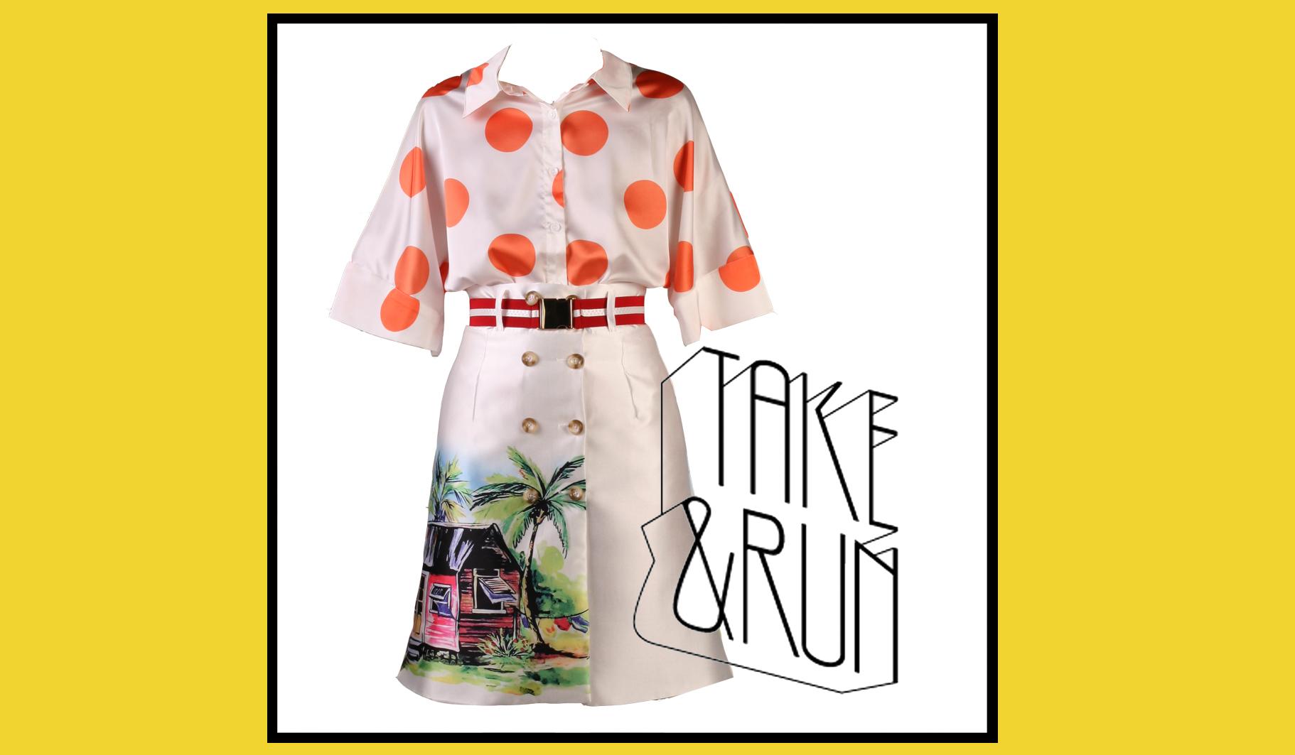 Съемки коллекции Бюро креативной одежды TAKE&RUN